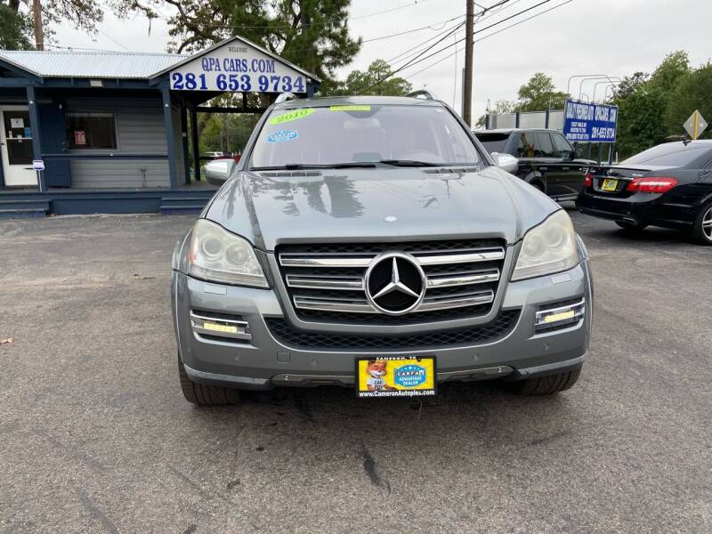 2010 Mercedes-Benz GL-Class for sale at QUALITY PREOWNED AUTO in Houston TX