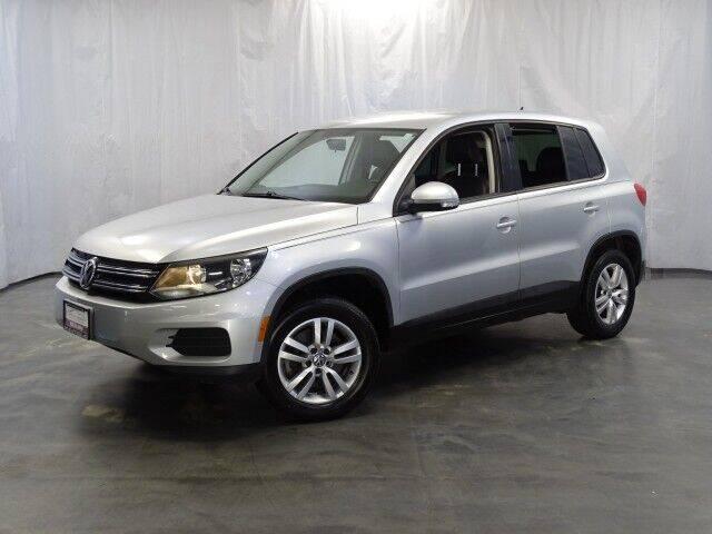 2012 Volkswagen Tiguan for sale at United Auto Exchange in Addison IL