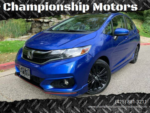 2018 Honda Fit for sale at Championship Motors in Redmond WA