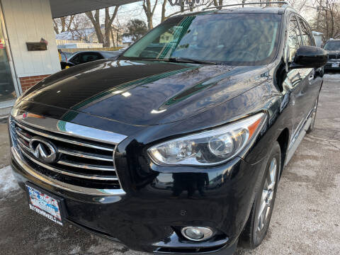 2014 Infiniti QX60 for sale at New Wheels in Glendale Heights IL