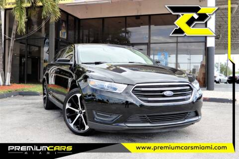 2016 Ford Taurus for sale at Premium Cars of Miami in Miami FL