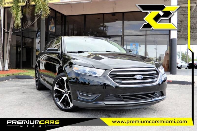 2016 Ford Taurus for sale at Premium Cars of Miami in Miami FL