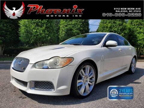 2010 Jaguar XF for sale at Phoenix Motors Inc in Raleigh NC