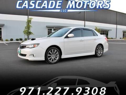 2010 Subaru Impreza for sale at Cascade Motors in Portland OR