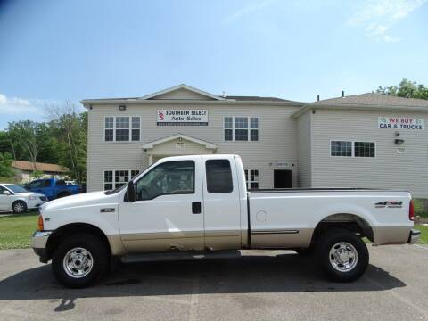 2001 Ford F-250 Super Duty for sale at SOUTHERN SELECT AUTO SALES in Medina OH
