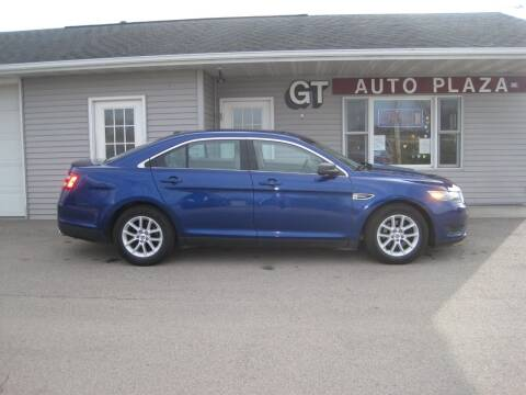 2013 Ford Taurus for sale at G T AUTO PLAZA Inc in Pearl City IL