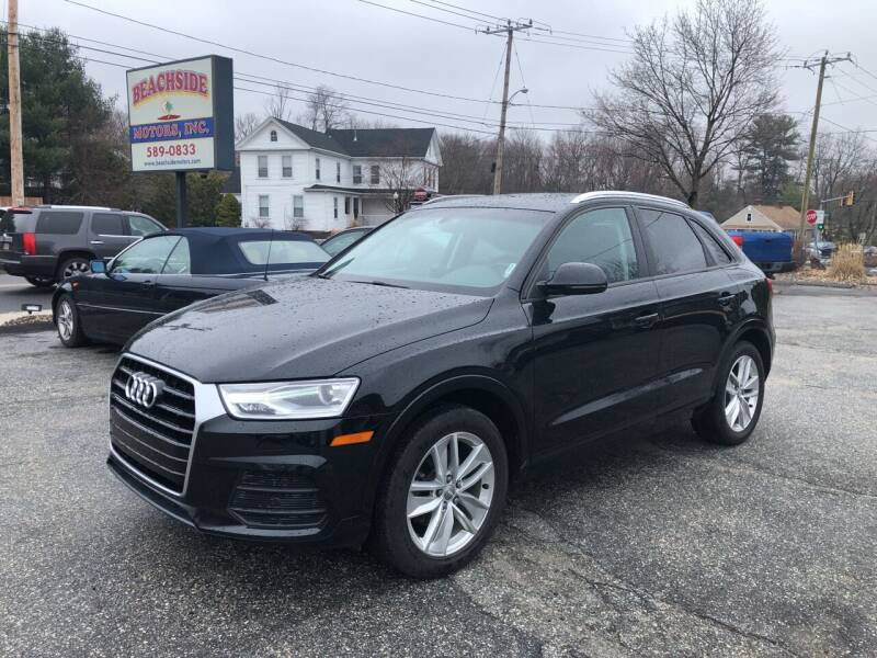 2017 Audi Q3 for sale at Beachside Motors, Inc. in Ludlow MA
