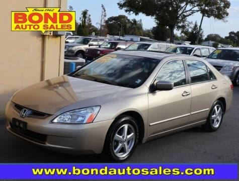 2004 Honda Accord for sale at Bond Auto Sales in St Petersburg FL