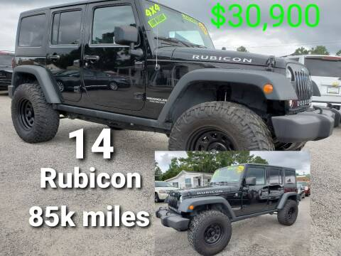 2014 Jeep Wrangler Unlimited for sale at Rodgers Enterprises in North Charleston SC