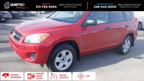 2010 Toyota RAV4 for sale at Quattro Motors 2 - 1 in Redford MI
