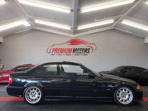 1996 BMW M3 for sale at Premium Motors in Villa Park IL