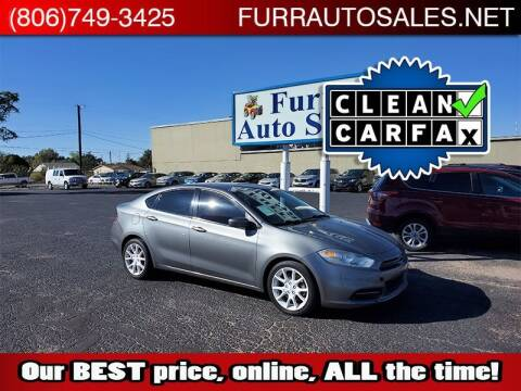 2013 Dodge Dart for sale at FURR AUTO SALES in Lubbock TX