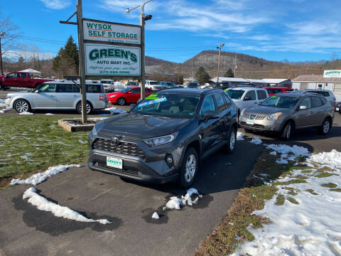 2019 Toyota RAV4 for sale at Greens Auto Mart Inc. in Wysox PA