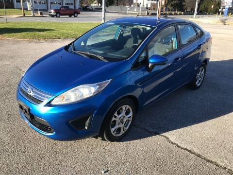 2011 Ford Fiesta for sale at Jackie's Car Shop in Emigsville PA