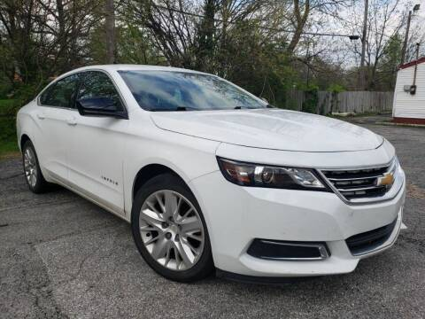 2016 Chevrolet Impala for sale at speedy auto sales in Indianapolis IN