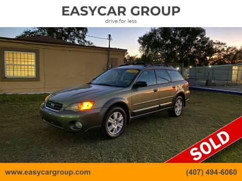 2005 Subaru Outback for sale at EASYCAR GROUP in Orlando FL