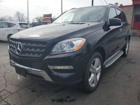 2015 Mercedes-Benz M-Class for sale at Drive Motor Sales in Ionia MI
