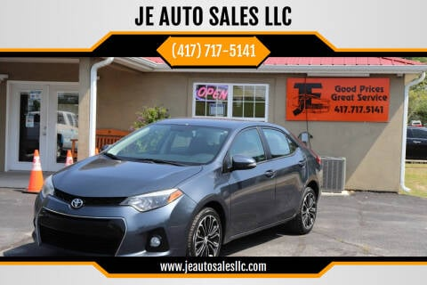 2015 Toyota Corolla for sale at JE AUTO SALES LLC in Webb City MO