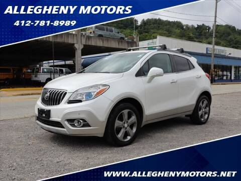 2014 Buick Encore for sale at Allegheny Motors in Pittsburgh PA