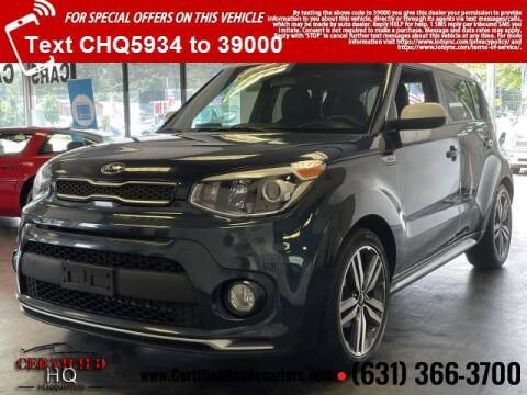 2018 Kia Soul for sale at CERTIFIED HEADQUARTERS in Saint James NY
