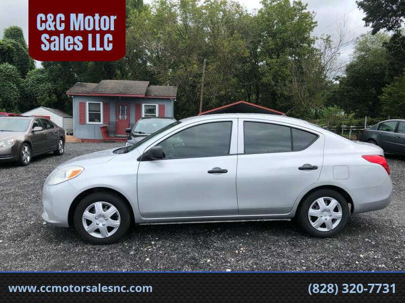 2014 Nissan Versa for sale at C&C Motor Sales LLC in Hudson NC