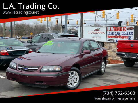 2003 Chevrolet Impala for sale at L.A. Trading Co. in Woodhaven MI