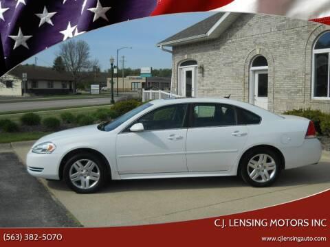 2014 Chevrolet Impala Limited for sale at C.J. Lensing Motors Inc in Decorah IA