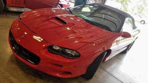 2001 Chevrolet Camaro for sale at Gary Miller's Classic Auto in El Paso IL