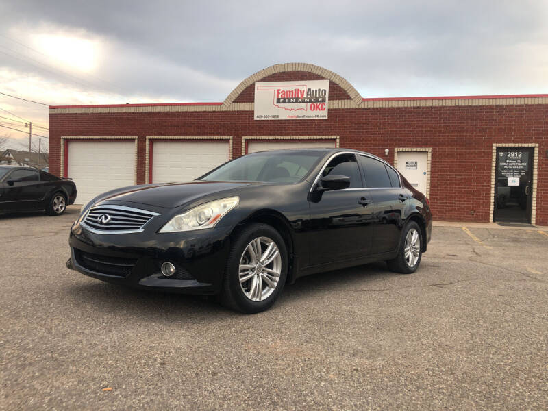 2011 Infiniti G25 Sedan for sale at Family Auto Finance OKC LLC in Oklahoma City OK