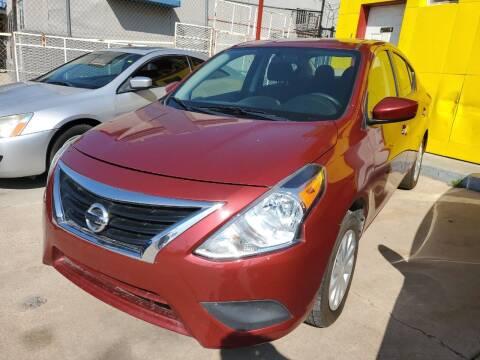 2018 Nissan Versa for sale at FM AUTO SALES in El Paso TX