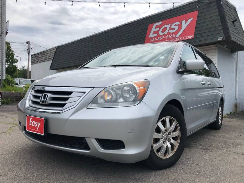2010 Honda Odyssey for sale at Easy Autoworks & Sales in Whitman MA
