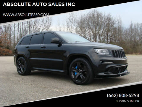 2013 Jeep Grand Cherokee for sale at ABSOLUTE AUTO SALES INC in Corinth MS