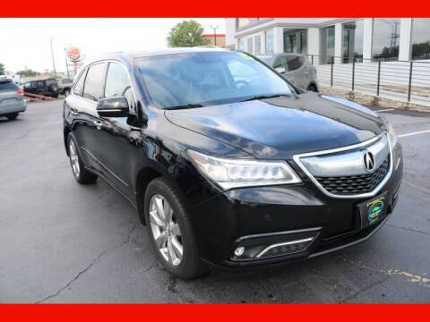 2015 Acura MDX for sale at AUTO POINT USED CARS in Rosedale MD