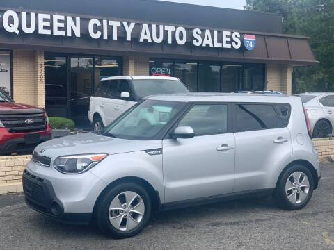 2016 Kia Soul for sale at Queen City Auto Sales in Charlotte NC