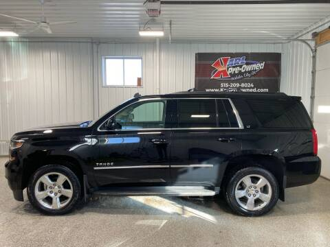 2015 Chevrolet Tahoe for sale at Karl Pre-Owned - Webster City in Webster City IA