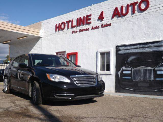 2013 Chrysler 200 for sale at Hotline 4 Auto in Tucson AZ
