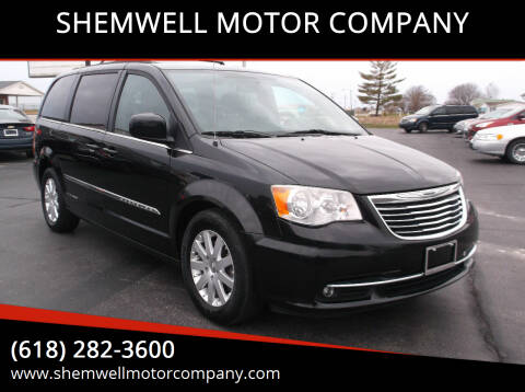 2014 Chrysler Town and Country for sale at SHEMWELL MOTOR COMPANY in Red Bud IL