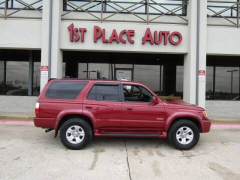 2002 Toyota 4Runner for sale at First Place Auto Ctr Inc in Watauga TX