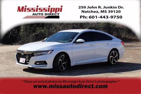 2019 Honda Accord for sale at Auto Group South - Mississippi Auto Direct in Natchez MS