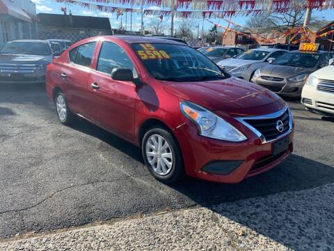 2015 Nissan Versa for sale at Metro Auto Exchange 2 in Linden NJ