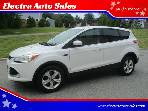 2014 Ford Escape for sale at Electra Auto Sales in Johnston RI