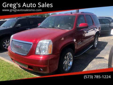 2012 GMC Yukon for sale at Greg's Auto Sales in Poplar Bluff MO