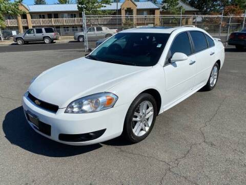 2012 Chevrolet Impala for sale at TacomaAutoLoans.com in Tacoma WA