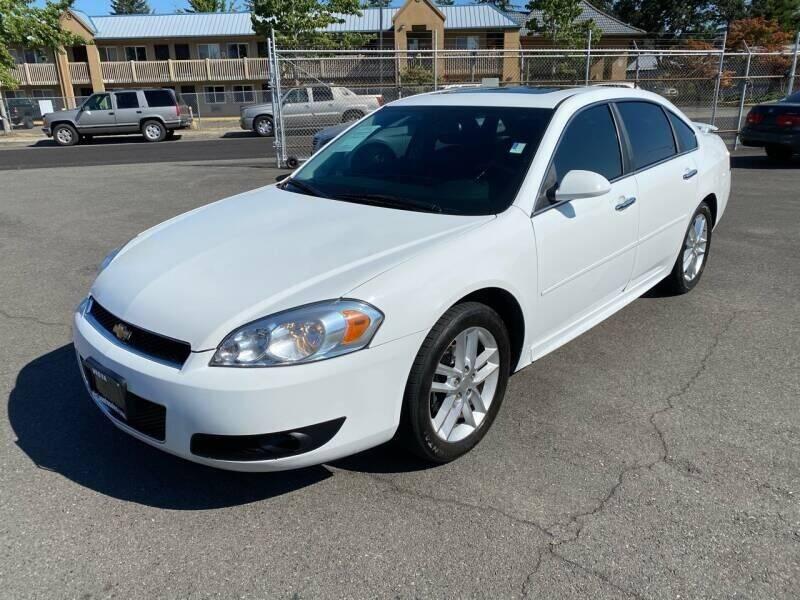 2012 Chevrolet Impala for sale at TacomaAutoLoans.com in Tacoma WA