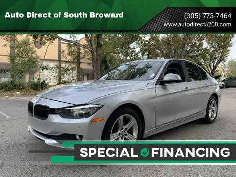 2014 BMW 3 Series for sale at Auto Direct of South Broward in Miramar FL