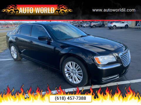 2014 Chrysler 300 for sale at Auto World in Carbondale IL