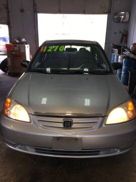 2003 Honda Civic for sale at USA Motors in Revere MA