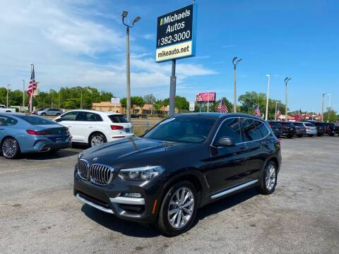 2019 BMW X3 for sale at Michaels Autos in Orlando FL