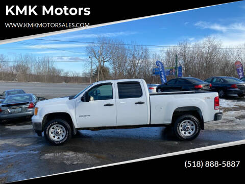 2013 GMC Sierra 2500HD for sale at KMK Motors in Latham NY