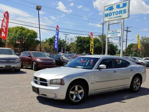 2010 Dodge Charger for sale at 4 U MOTORS in El Paso TX